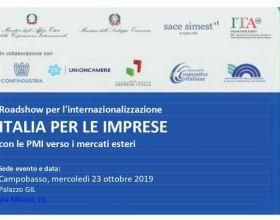 Roadshow Italia per le imprese